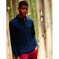 SS37M Fruit of the Loom Premium Long Sleeve Polo Shirt